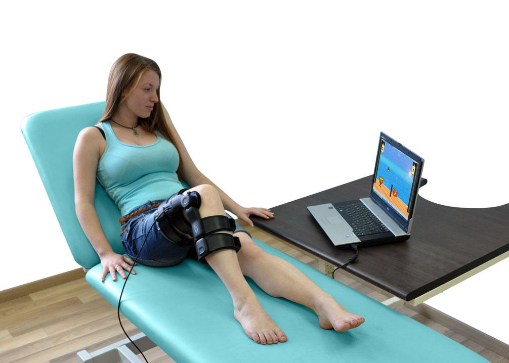 Аппарат реабилитационный с биологической обратной связью из линейки Tutor для лечения последствий инсульта, ДЦП, травм бедра.